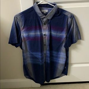 Calvin Klein casual short sleeve button down